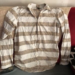 marc by marc jacobs shirt button down m paisley